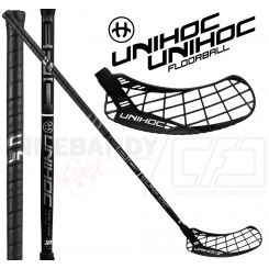 Unihoc Epic Edge Curve 1.0º 26 black/chrome