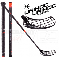 Unihoc Epic Carbskin Curve 2.0º 26 red - Floorballstav