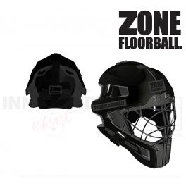 Zone Goalie Mask Monster Cat Eye Cage - all black