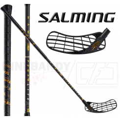 Salming Hawk Powerlite X 27 - black raw / gold