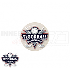 End cap med logo - Floorball Horsens