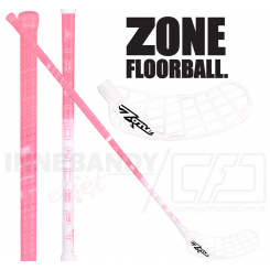 Zone Monstr AIR Superlight 26 hot pink / white - Floorballstav