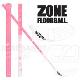 Zone Monstr AIR Superlight 26 hot pink / white - Floorballstav