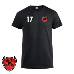 Trænings T-shirt - Mørke IF Dark Devils - ICE-T sort
