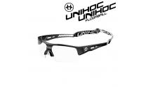 Unihoc Victory Eyewear Sr black / white