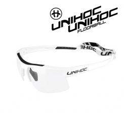 Unihoc Energy Eyewear Jr white / black