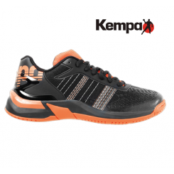 Kempa Attack Contender Junior black/fluo orange
