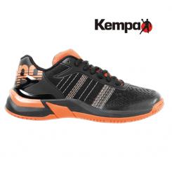 Kempa Attack Contender Junior black/fluo orange