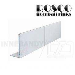 Rosco Floorball Bande Stykker - 1 meter bandestykke, hvid