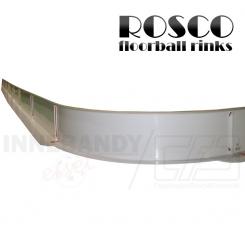 Rosco Floorball Bande Stykker - 1,5 meter hjørne bandestykke, hvid