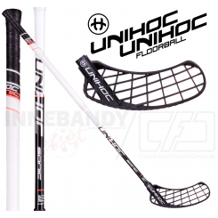 Unihoc Sonic Top Light II 26 black/white - Floorballstav