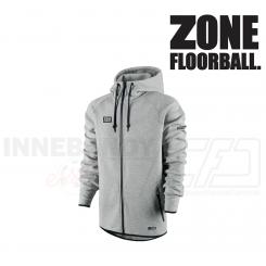 Zone Hood Zip Hitech Hættetrøje grå