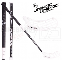 Unihoc Epic Oval Light 26 black/white - Floorballstav