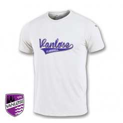 Streetwear T-shirt - Vanløse Floorball - Hvid
