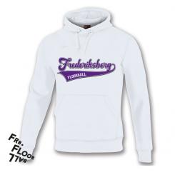Streetwear Hættetrøje - Frederiksberg FC - Hvid