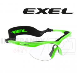 Exel Hurricane Eyeguard Jr neon green