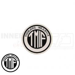 End cap med logo - TMIF