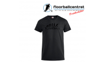 Floorballcentret T-shirt - Floorball Evolution - Sort