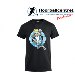 CFC T-shirt - Superseje Drenge Spiller Floorball - Sort