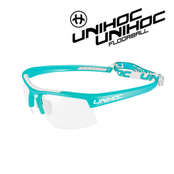 Unihoc Energy Eyewear Jr turquoise / white
