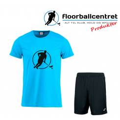 Floorballcentret Spillesæt - Blå