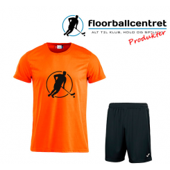 Floorballcentret Spillesæt - Orange