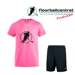 Floorballcentret Spillesæt - Pink