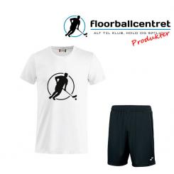 Floorballcentret Spillesæt - Hvid