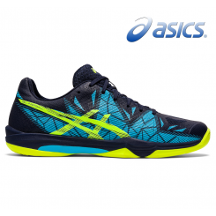 Asics Gel Fastball 3 - Herre - peacoat/safety yellow