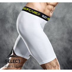 Select Compression Shorts white