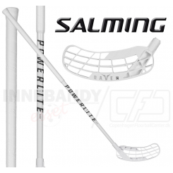 Salming Raven Powerlite Aero 29 - Floorballstav - white / black