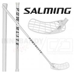 Salming Hawk Powerlite Aero 25 - Floorballstav - black / white