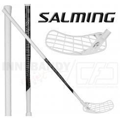 Salming Hawk Powerlite KZ  27 - Floorballstav - white / black