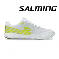 Salming Viper 5 Women - Floorballsko - white / lime punch