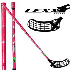 Lexx Pink Wolf 32 - Floorballstave - Lyserød