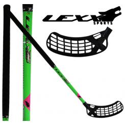 Lexx Icebreaker Hockey 30 - Floorballstave - Grøn/Sort