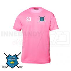 Trænings T-shirt - Stevns Floorball - Pink
