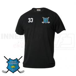 Trænings T-shirt - Stevns Floorball - Sort