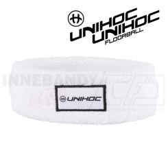 Unihoc Headband Terry mid white