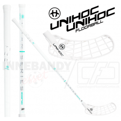 Unihoc Iconic Titan Superskin MAX 29 white - Floorballstav