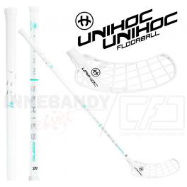 Unihoc Iconic Titan Superskin MAX 29 white - Floorballstav