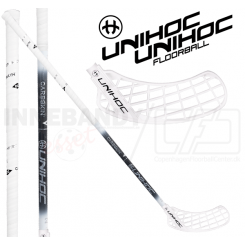 Unihoc Sonic Carbskin Feather Light 26 white - Floorballstav