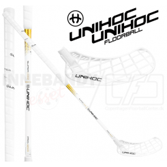 Unihoc Epic Superskin PRO Feather Light 26 Oval white - Floorballstav