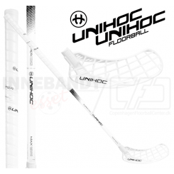 Unihoc Epic Superskin Titan MAX 26 Oval white - Floorballstav