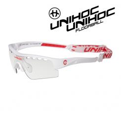 Unihoc Victory Eyewear Kids white / red