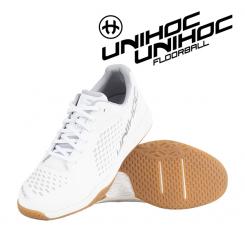 Unihoc U5 Pro LowCut Men - white / silver