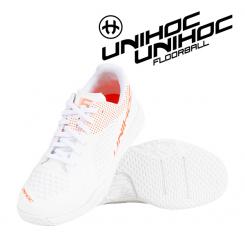 Unihoc U5 Pro LowCut Women - white / coral