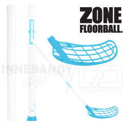 Zone Force Air JR 35 white/blue (TS) - Floorballstav