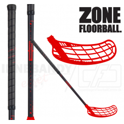 Zone Force Air JR 35 black/red - Floorballstav