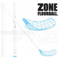 Zone Hyper AIR Superlight 29 white/ice blue - Floorballstav